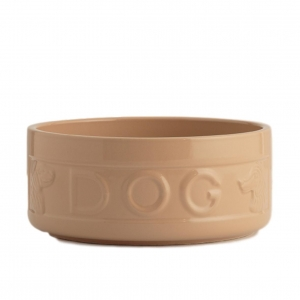 Mason Cash Lettered Dog Bowl