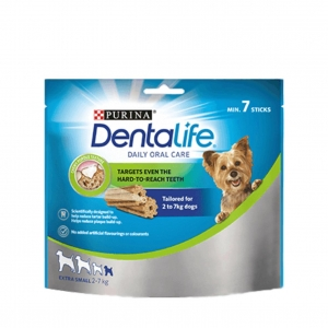 Purina Dentalife Daily Oral Care Sticks for Extra Small Dogs 7pcs