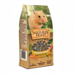 Nature's Feast Hamster Food 675gm
