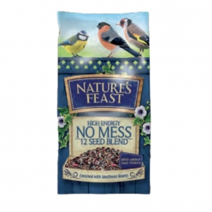 Nature's Feast High Energy No Mess 12 Seed Blend 12.75kg
