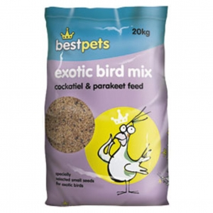 BestPets Cockatiel and Parakeet Feed 20kg