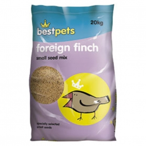 BestPets Foreign Finch Small Seed Mix 20kg