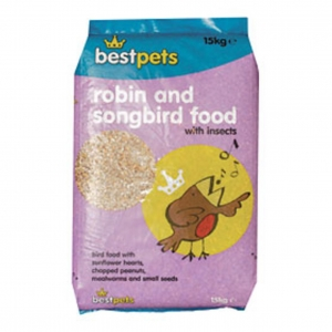 BestPets Robin and Songbird Food 15kg