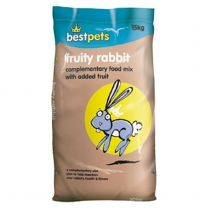 BestPets Fruity Rabbit Food 15kg