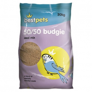 BestPets 50/50 Budgie Seed Mix