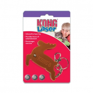 KONG Holiday Laser Reindeer