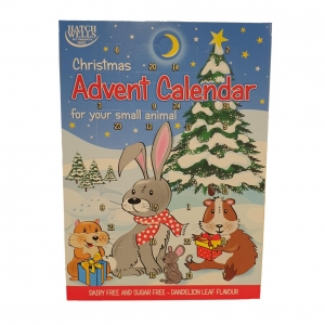 Hatchwells Christmas Advent Calendar for Small Animals 70gm