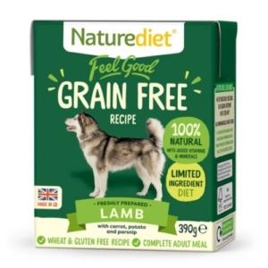 Naturediet Grain Free Lamb 390g