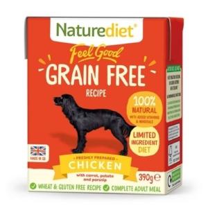 Naturediet Grain Free Chicken 18x390g
