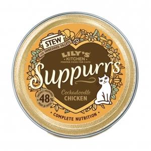 Lilys Kitchen Suppurrss Cockadoodle Chicken Stew 9 x 85gm
