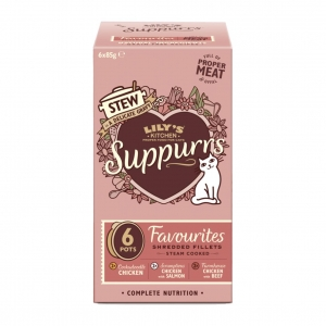 Lilys Kitchen Suppurrs Favourites Multipack