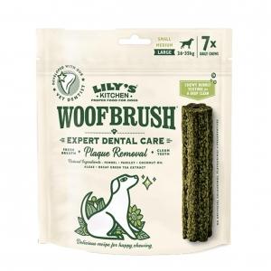 Lilys Kitchen Woofbrush Daily Chews LARGE 7pcs