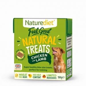 Naturediet Feel Good Natural Treats Chicken & Lamb 150gm
