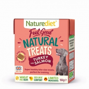 Naturediet Feel Good Natural Treats Turkey with Salmon 150gm