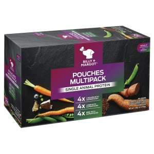 Billy + Margot Superfood Pouches Multipack