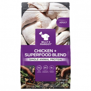 Billy + Margot Adult Dry Chicken with Superfoods