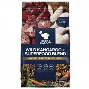 Billy + Margot Adult Dry Wild Kangaroo + Superfood Blend