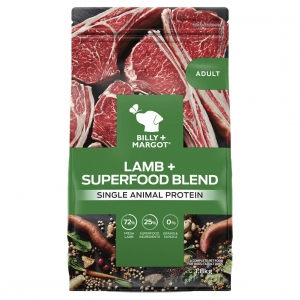 Billy + Margot Adult Dry Lamb + Superfood Blend 1.8kg