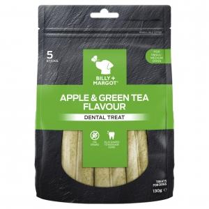 Billy + Margot Dental Treats Apple & Green Tea Flavour
