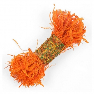 Critters Choice Shreddy Roller Carrot Orange*