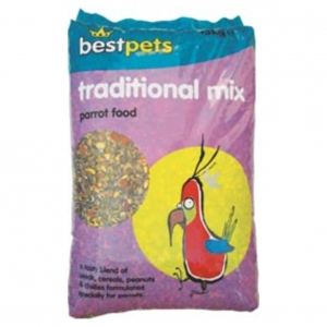 BestPets Traditional Mix Parrot Food 15kg