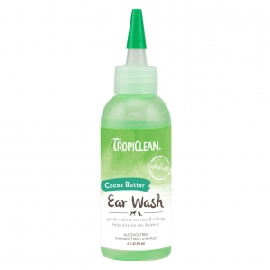 TropiClean Cocoa Butter Ear Wash 118ml