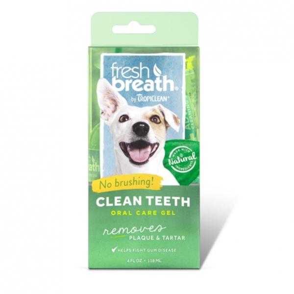 TropiClean Fresh Breath Oral Care Gel 118ml