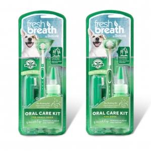TropiClean Fresh Breath Oral Care Kit (Two Sizes)