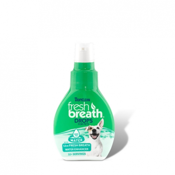 TropiClean Fresh Breath Drops for Pets 2.2fl.oz