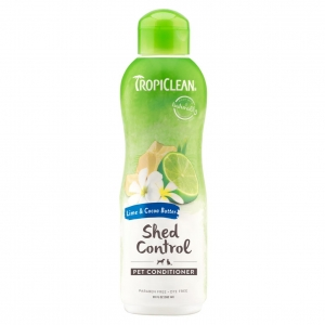 TropiClean Shed Control Conditioner Lime & Cocoa Butter
