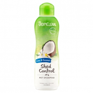 TropiClean Shed Control Shampoo Lime & Coconut