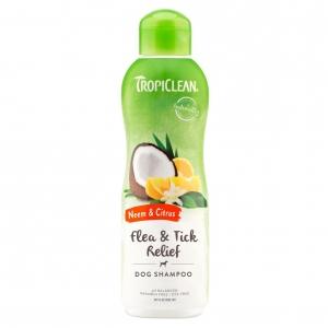 TropiClean Flea & Tick Relief Shampoo