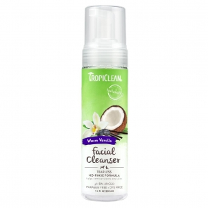 TropiClean Tearless Facial Cleanser 220ml