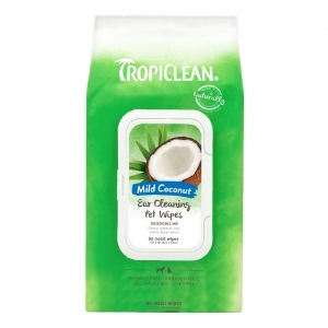 TropiClean Ear Cleaning Pet Wipes 50pcs