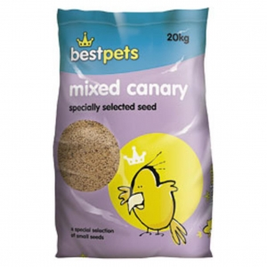 BestPets Mixed Canary Seeds 20kg