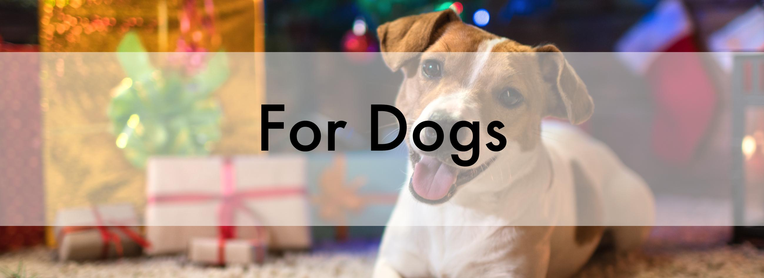 Christmas Banner for Dogs