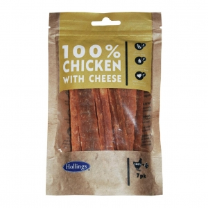Hollings 100% Chicken with Cheese Bars 7pcs