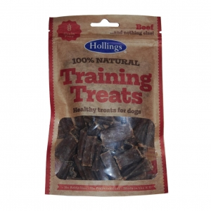 Hollings Natural Beef Training Treats 75gm