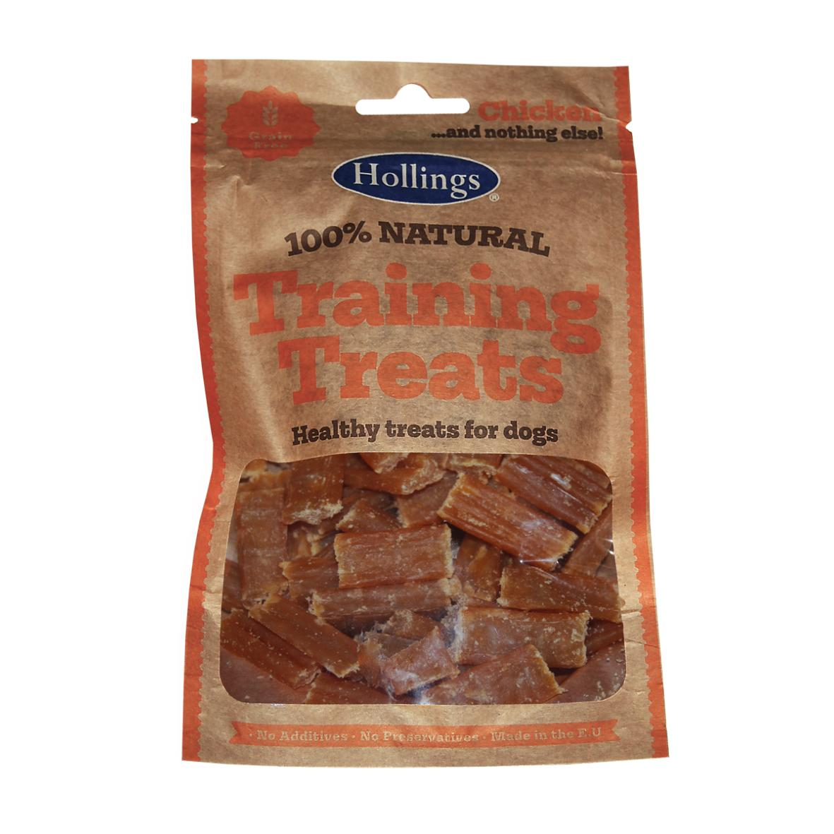 Hollings Natural Chicken Training Treats 75gm