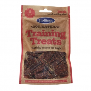 Hollings Natural Duck Training Treats 75gm