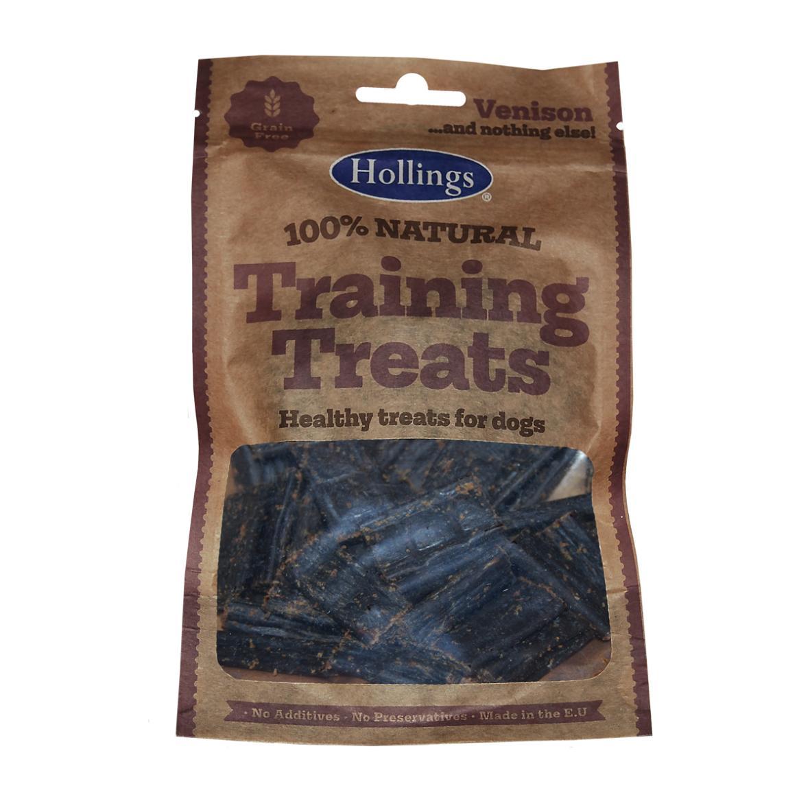Hollings Natural Venison Training Treats 75gm