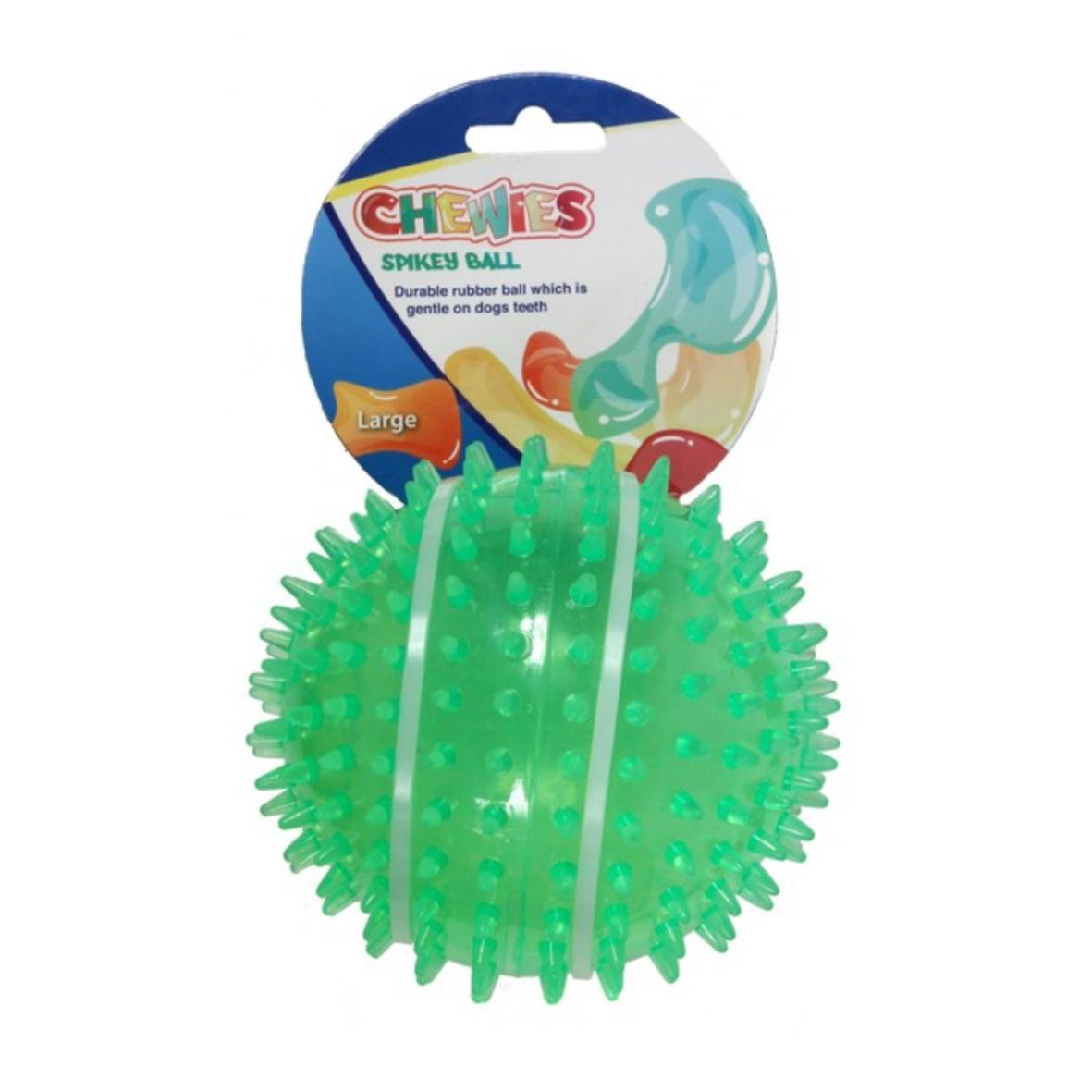 Animal Instincts Chewies Spikey Ball Large 12.5cm