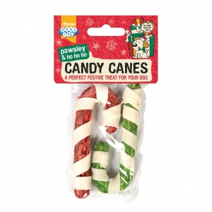 Good Boy Pawsley & Co Candy Canes 2pcs 4""