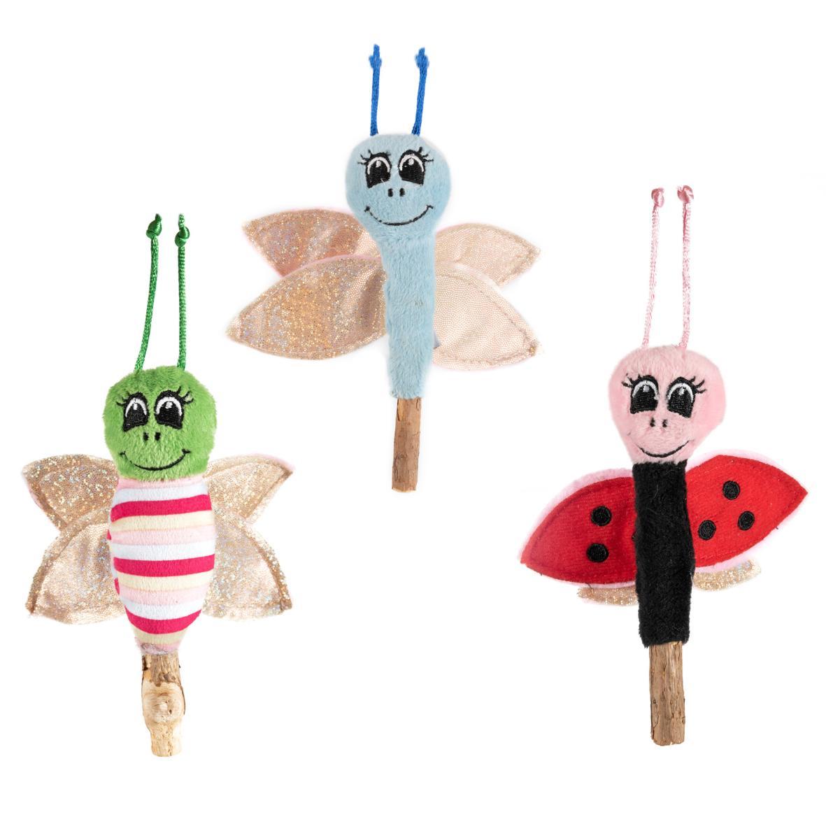 CLEARANCE Ancol Catnip Stick Bug 17cm