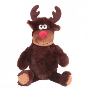 Animate Squeaky Reindeer Small 12""