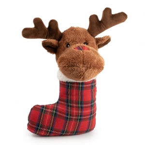 Ancol Squeaky Stocking Reindeer