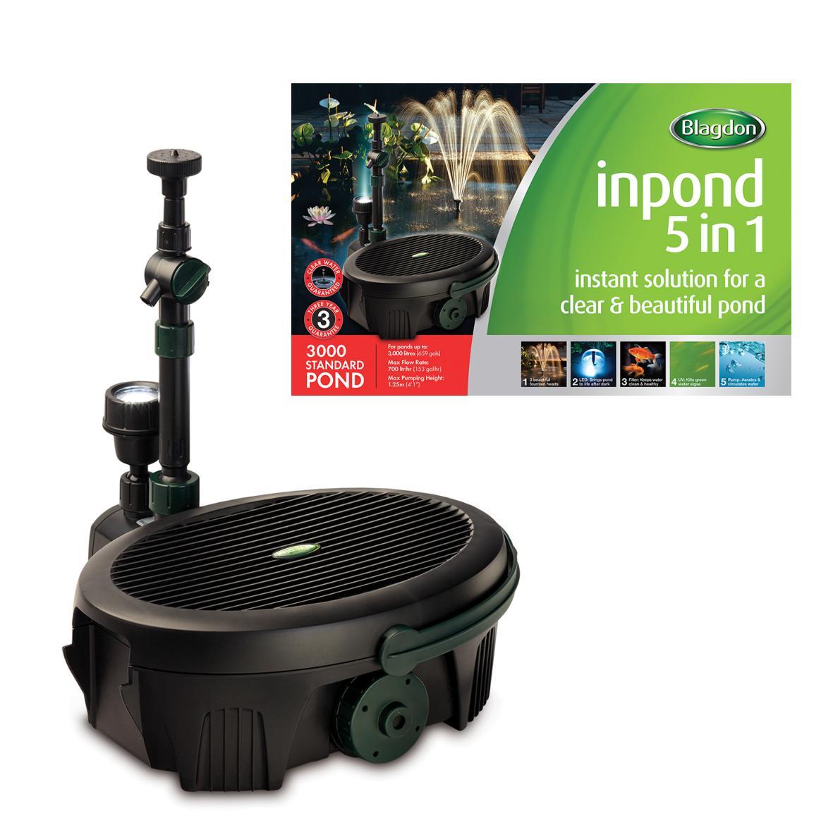 Blagdon Inpond 5 in 1 Filtration Kit 3000
