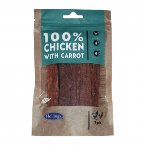 Hollings 100% Chicken with Carrot Bars 7pcs