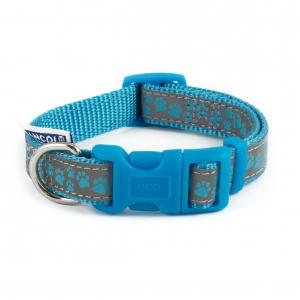 Ancol Fashion Reflective Paw Collar Blue*