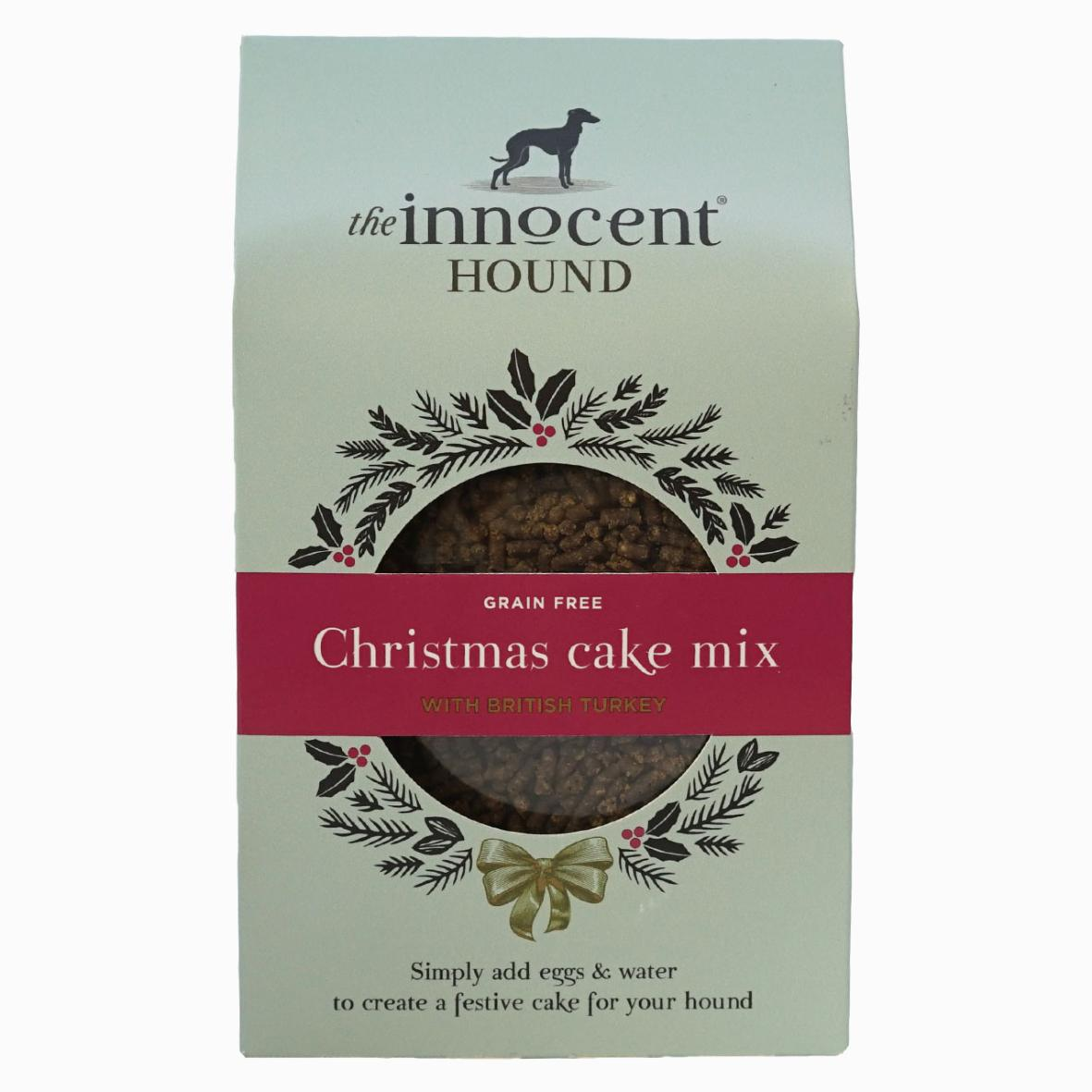 CLEARANCE The Innocent Hound Christmas Cake Mix 255g